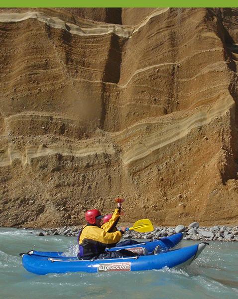 Kayak Tours - Rangitata River