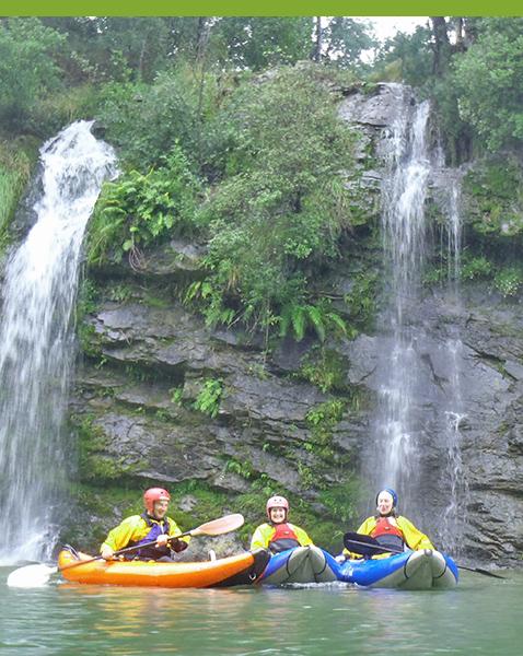 Kayak Tours - Orari Gorge
